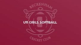 U11 Girls Softball