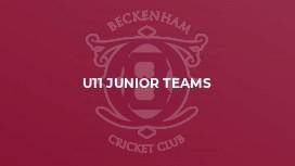 U11 Junior Teams