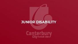 Junior Disability