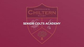 Senior Colts Academy