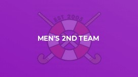 Men's 2nd Team