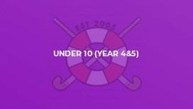 Under 10 (Year 4&5)