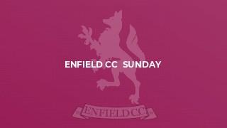 Enfield CC  Sunday