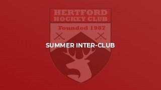 Summer Inter-Club