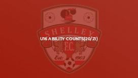 U16 Ability Counts(20/21)