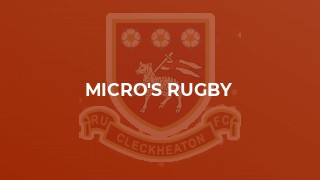 Micro's Rugby