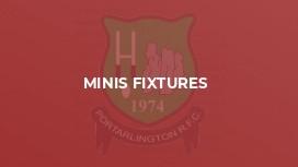 Minis Fixtures