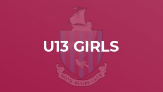 Hove U13 Girls at home
