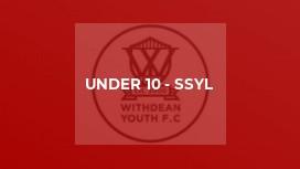 Under 10 - SSYL