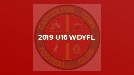 2019 U16 WDYFL