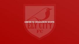 Under 15 Crusaders White