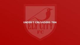 Under 7 Crusaders  Trn
