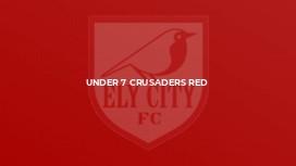 Under 7 Crusaders Red