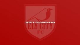 Under 8  Crusaders White
