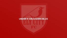Under 9 Crusaders Blue