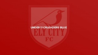Under 11 Crusaders Blue
