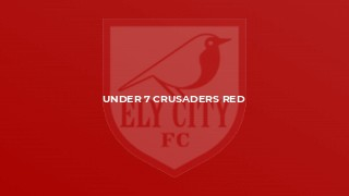 Under 7 Crusaders Red
