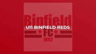U11 Binfield Reds
