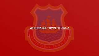 Third win in a row for Whitstable Town U16A