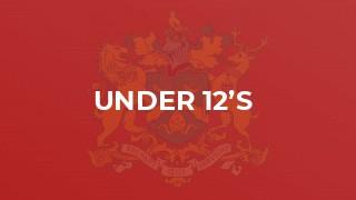 Under 12's