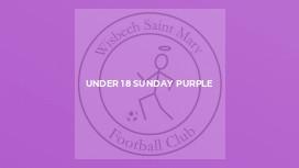 Under 18 Sunday Purple