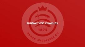 Sunday 1030 Coaches