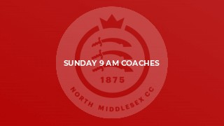 Sunday 9 am coaches
