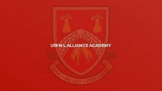 U19 N L Alliance Academy