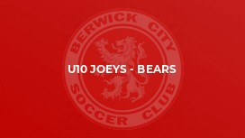 U10 Joeys - Bears