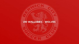 U10 Wallabies - Wolves
