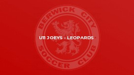 U11 Joeys - Leopards