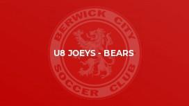 U8 Joeys - Bears