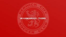 U8 Kangaroos - Tigers