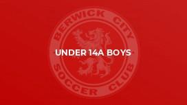 Under 14A Boys