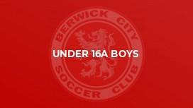 Under 16A Boys