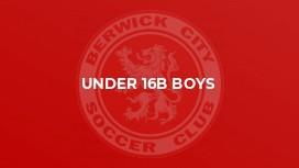 Under 16B Boys