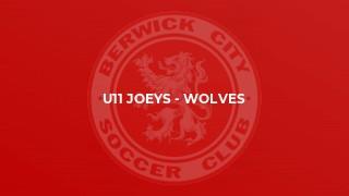 U11 Joeys - Wolves