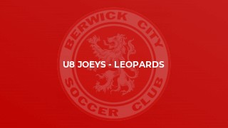 U8 Joeys - Leopards