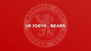 U9 Joeys - Bears
