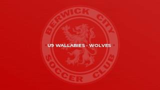 U9 Wallabies - Wolves