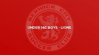 Under 14C Boys - Lions