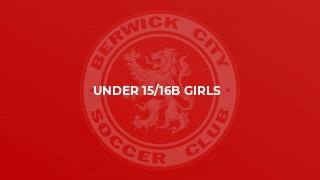 Under 15/16B Girls