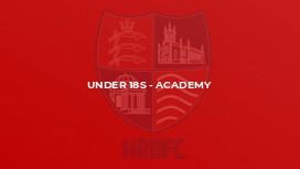 Under 18s - Academy