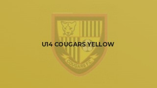 U14 Cougars Yellow