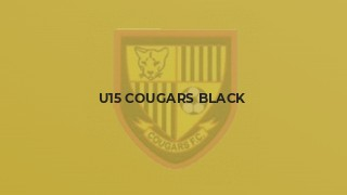 U15 Cougars black