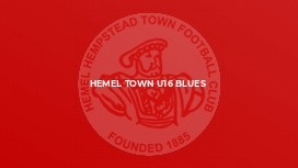 Hemel town u16 blues