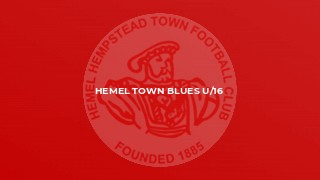 Hemel Town Blues U/16