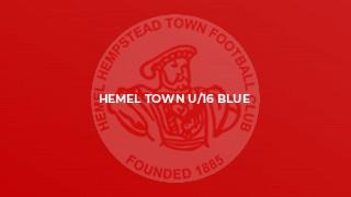 Hemel town u/16 blue