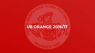U8 Orange 2016/17