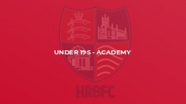 Under 19s - Academy